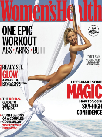 Julianne Hough Gets Revealing for Women's Health