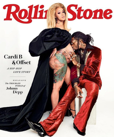 Rolling Cardi B Cover