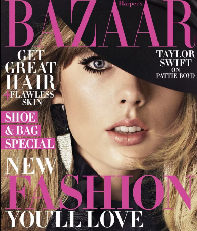 Taylor Swift interviews Pattie Boyd for Harper s Bazaar