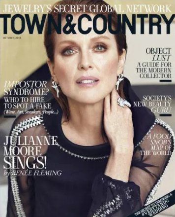 JJulianne Moore Town Country Cover