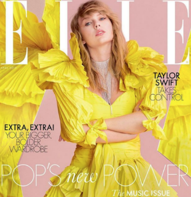 taylor swift elle uk