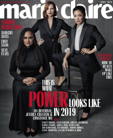Jessica Chastain, Constance Wu and Ava Duvernay