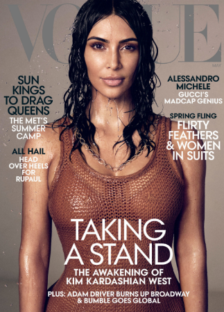 Kim Kardashian Lawyer Vogue