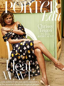 Chrissy Teigen Porter Cover