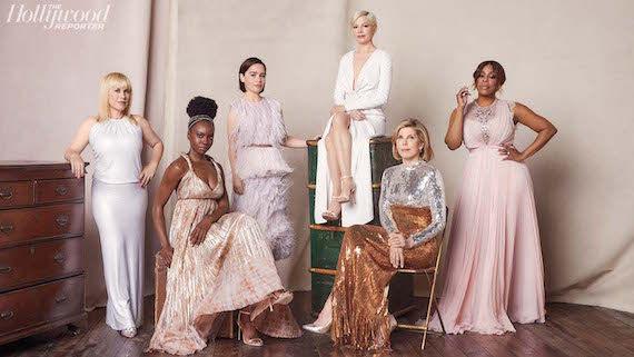 Emilia Clarke, Michelle Williams, Patricia Arquette, Christine Baranski, Danai Gurira and Niecy Nash