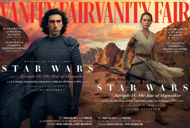 star wards rise of skywalker vanity fair