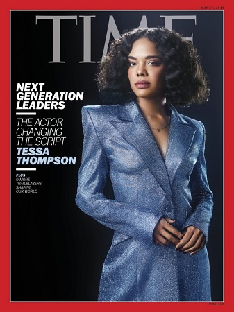 tessa thompson time cover