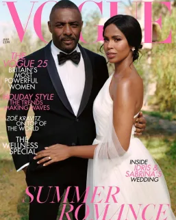 Idris and Sabrina Elba wedding
