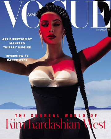 Kim Kardashian covers Vogue Arabia