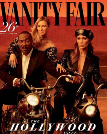 Vanity Fair Hollywood Issue jlo renee eddie murphy