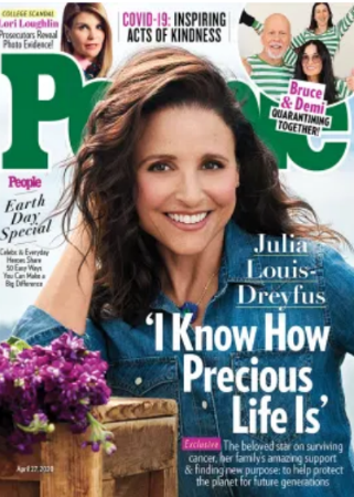 Julia Louis-Dreyfus People cover