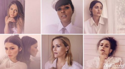 Janelle Monae, Jennifer Aniston, Zendaya, Reese Witherspoon, Helena Bonham Carter and Rose Byrne